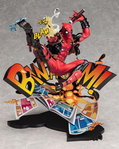 Statuette - Marvel - Deadpool sortant de sa BD 24 cm