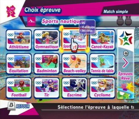 Mario Sonic Aux Jeux Olympiques De Londres 2012 Wii