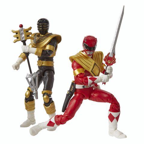 Figurine - Power Rangers - Pack 2 Figurines Premium 15 Cm (exclusivité Micromani