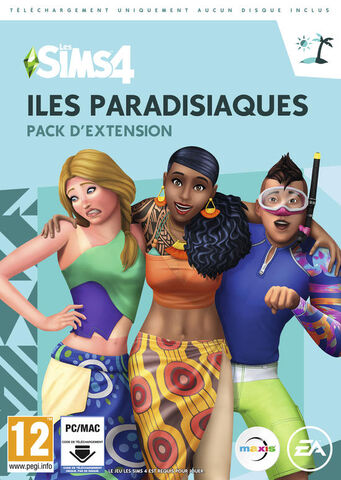 Les Sims 4 Iles Paradisiaques (code In A Box)