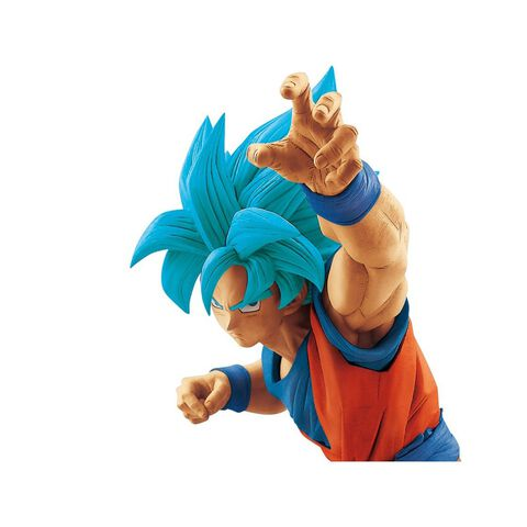 Figurine - Dragon Ball Super - Son Goku Super Saiyan Bleu 25 cm