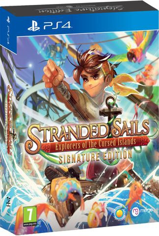 Stranded Sails Explorers Of The Cursed Islands Signature Edition (exclusivité Micromania-Zing)