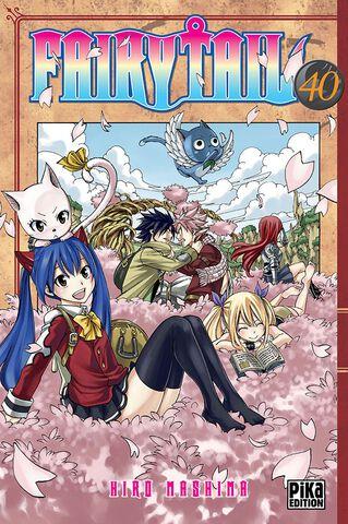 Manga - Fairy Tail - Tome 40