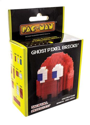 Construction Pac-man - Ghost Pixel Bricks