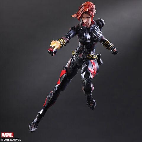Figurine - Marvel Comics - Variant Play Arts Kai Figurine Black Widow 26 cm