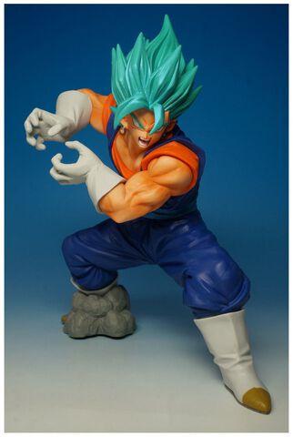 Figurine - Dragon Ball Super - Super Saiyan Blue Vegetto en Final Kamehameha 16 cm