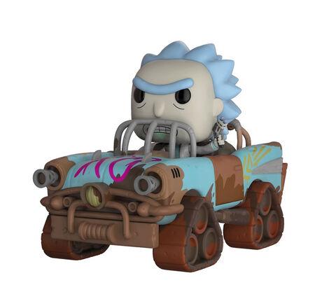 Figurine Funko Pop! N°37 - Rick et Morty - Ride Mad Max Rick - 15 cm