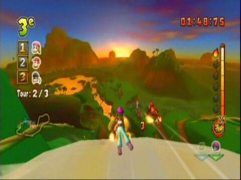 Donkey Kong, Jet Race