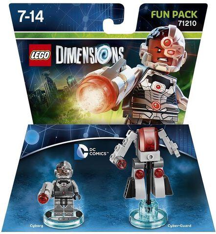 Figurine Lego Dimensions Cyborg - DC Comics