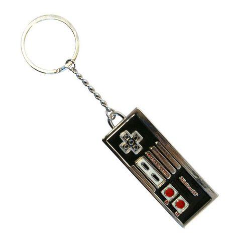 Porte-cles - Nintendo - Manette Gravée