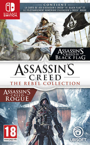 Compil Assassin's Creed Black Flag + Rogue Remastered