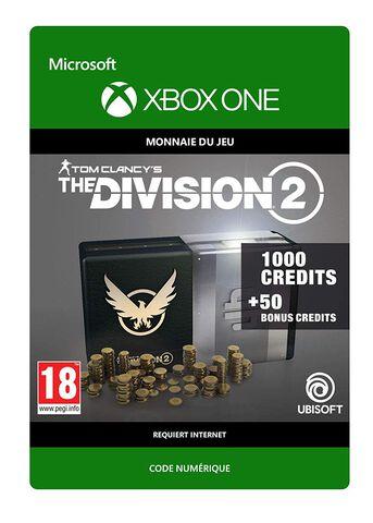 The Division 2 - DLC - 1050 Premium Credits Pack - Version digitale