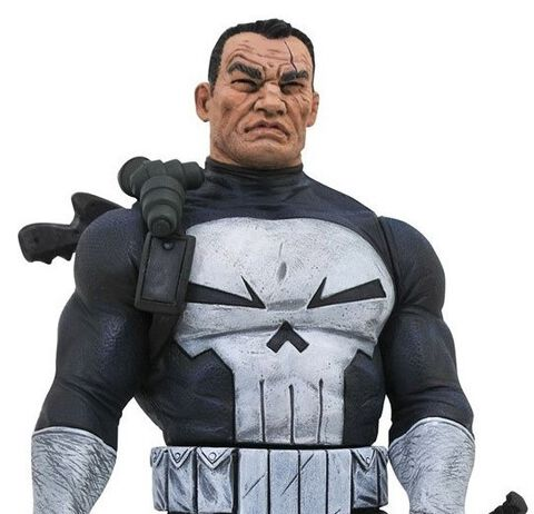 Statuette Diorama Diamond Select Gallery - Marvel - The Punisher 23 Cm