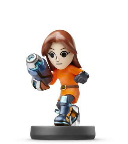 Figurine Amiibo N°50 Smash Tireuse Mii