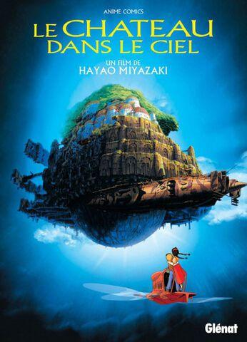 Livre - Le Château dans le Ciel - Anime Comics Studio Ghibli