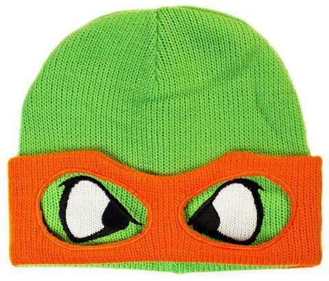 Bonnet - Rétro Turtles - Michelangelo Face