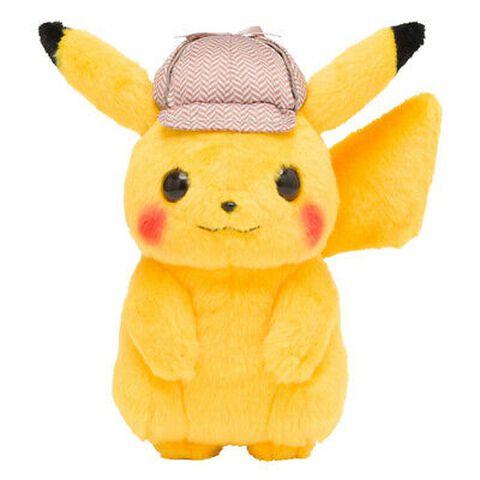Peluche - Pokémon Film - Pikachu Détective 20 cm