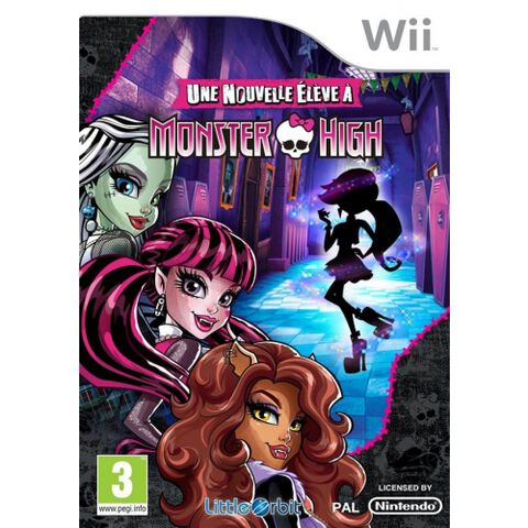 Monster High Une Nouvelle Eleve A Monster High
