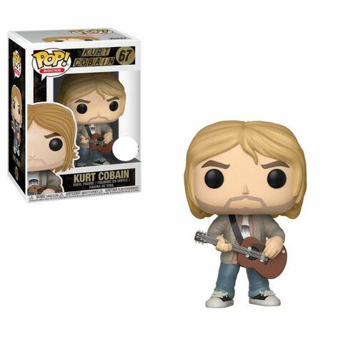 Figurine Funko Pop! N°67 - Rocks - Kurt Cobain