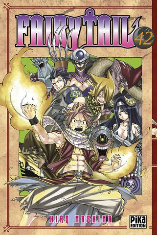 Manga - Fairy Tail - Tome 42