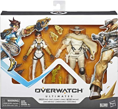 Figurine Ultimates - Overwatch - Mccree Et Tracer