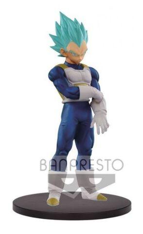 Statuette Dxf - Dragon Ball Super - The Super Warriors - Super Saiyan Blue Vegeta