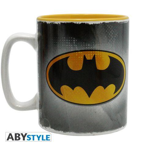 Mug - Dc Comics - Batman & Logo - 460 Ml