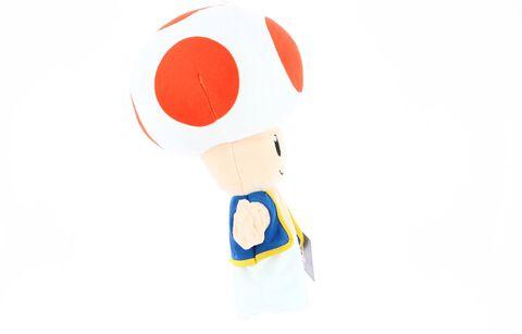 Marionnette Peluche - Mario - Toad - Exclusivité Micromania-Zing