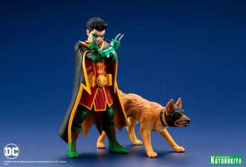 Statuette Kotobukiya - Super Sons - Robin et Ace 15 cm