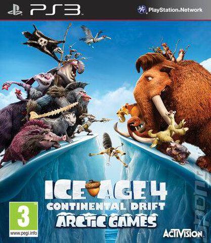 L'âge De Glace 4 : La Dérive Des Continents – Jeux De L'arctique
