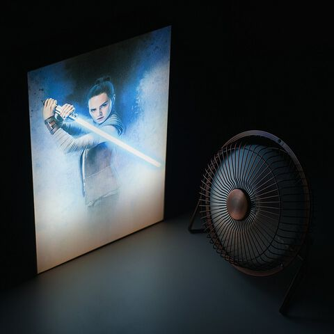 Cadre Lumineux - Star Wars : Les Derniers Jedi - Rey Luminart