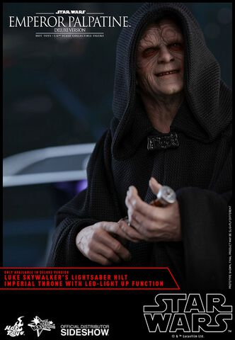 Figurine Hot Toys - Star Wars Episode VI - Empereur Palpatine Deluxe Version 1/6