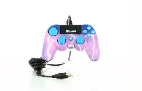 Plap Manette Filaire Violette Storm @play Ps4 Officielle Sony