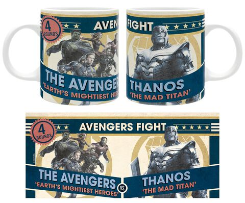 Mug - Marvel - Avengers vs Thanos 320 ml - Exclusivité Micromania-Zing
