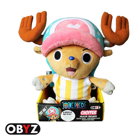 Peluche One Piece Chopper New World Parlant