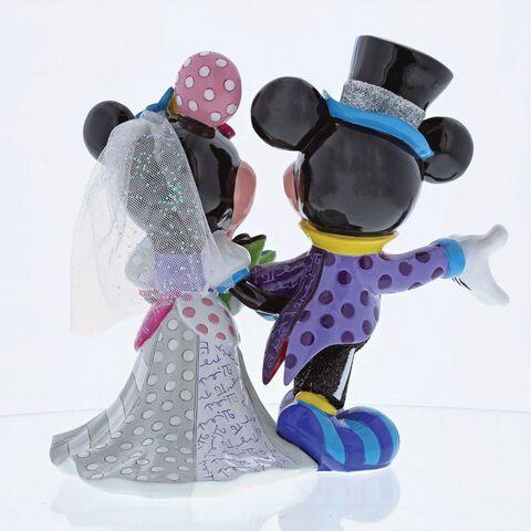 Figurine - Disney Britto - Mickey et Minnie 19 cm