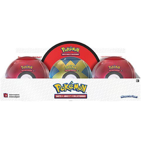 Boite Pokéball - Pokémon - 3 Boosters 1 Jeton