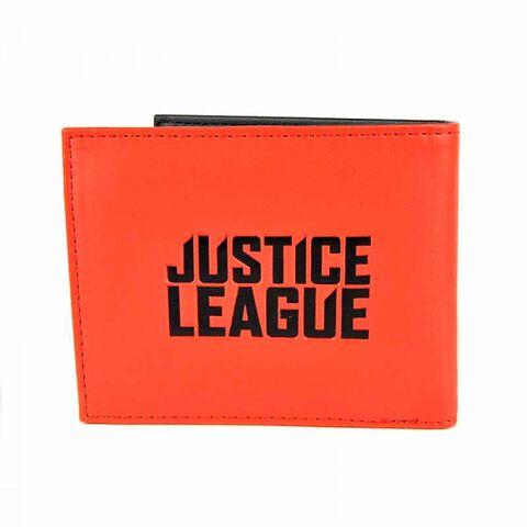 Portefeuille - Justice League - Rouge et noir