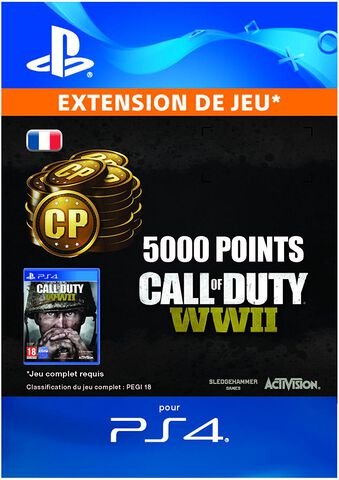 Call Of Duty : Wwii - 5000 Points