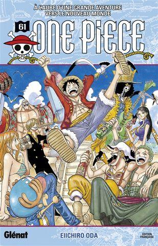 Manga - One Piece - Edition Originale Tome 61