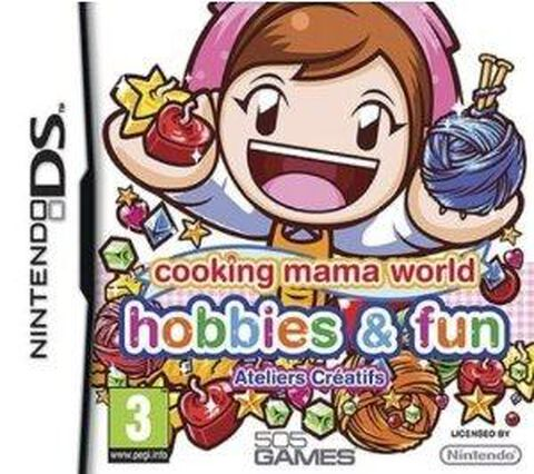 Cooking Mama World Hobbies & Fun, Ateliers Créatifs