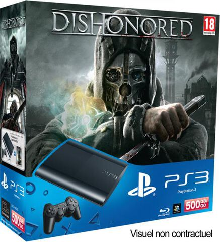 Pack Ps3 500 Go + Dishonored
