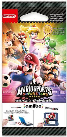 Cartes amiibo Mario Sports Superstars