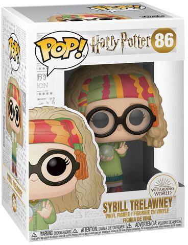 Figurine Funko Pop! N°86 - Harry Potter - S7 Sibylle Trelawney