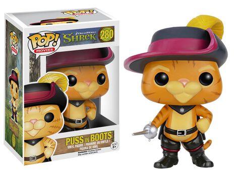 Figurine Funko Pop! N°280 - Shrek - Le Chat Potté