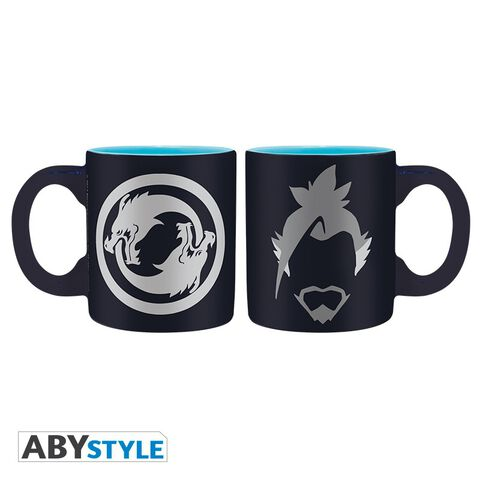 Mini-mug - Overwatch - Set de 2 Hanzo et Genji 110 ml