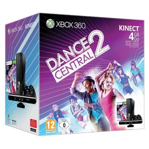 Pack Xbox 360 4 Go + Dance Central 2 + Kinect