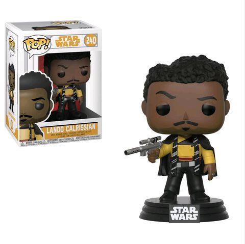 Figurine Funko Pop! N°240 - Star Wars Solo - Série 1 Lando Calrissian
