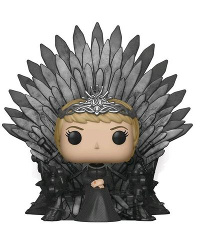 Figurine Funko Pop! N°73 - Game of Thrones S10 - Cersei Lannister assise sur le trône