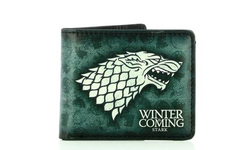 Coffret - Game of Thrones - Portefeuille + Porte-clés Stark